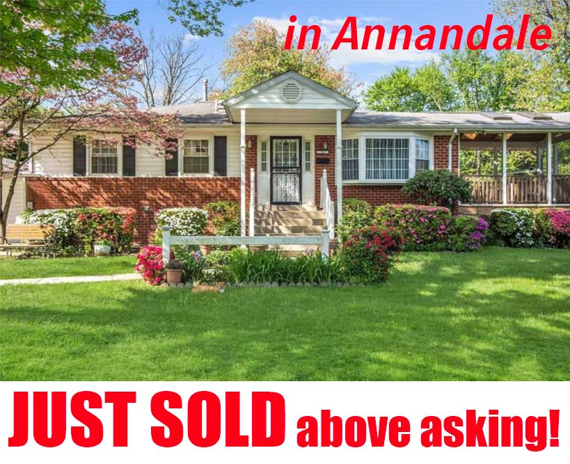 Single family home in Annandale VA 22003